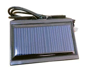 JNSTARSECURITY External Solar Cell